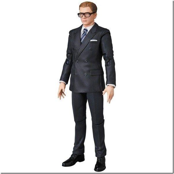 MAFEX No.072 Kingsman The Secret Service Gary Eggsy Unwin Action Figure W//T