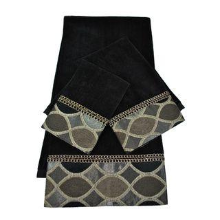 Shop for Sherry Kline Barham Decorative 3-piece Towel Set. Free Shipping on…