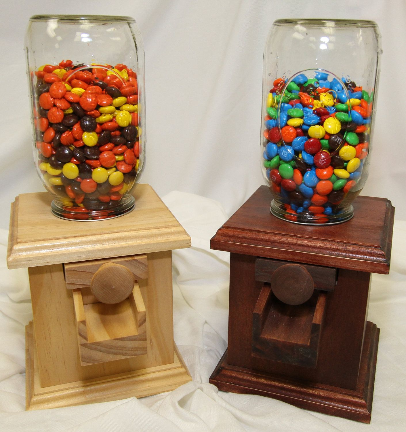 hand made wooden candy dispenser m m peanut skittles snack wood candy dispenser. Black Bedroom Furniture Sets. Home Design Ideas