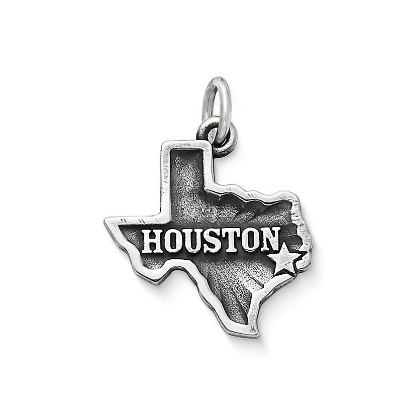 Houston Charm Charms for Bracelets and Necklaces