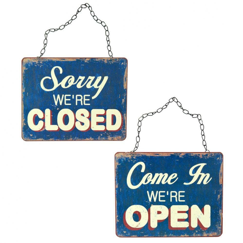 Bord open/closed