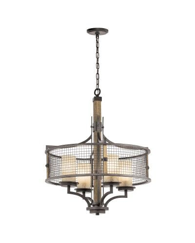 Maxim Lighting Alessandra 4 Light Silver Mist Traditional Crystal Chandelier