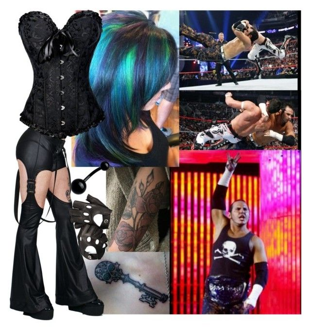 """""""Tagging with Matt Hardy!!!!!!!!"""" by carmellahowyoudoin ❤ liked on Polyvore featuring Cyberdog and Aspinal of London"""