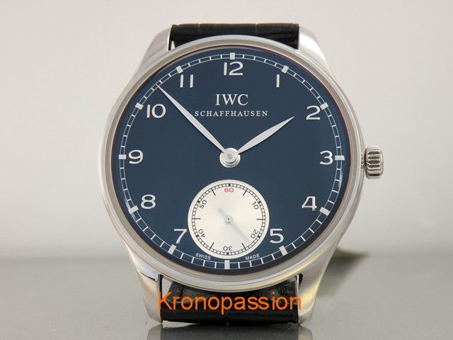 IWC Portuguese Hand...  - http://kronopassion.com/product/iwc-portuguese-hand-wound-ref-5454-04/