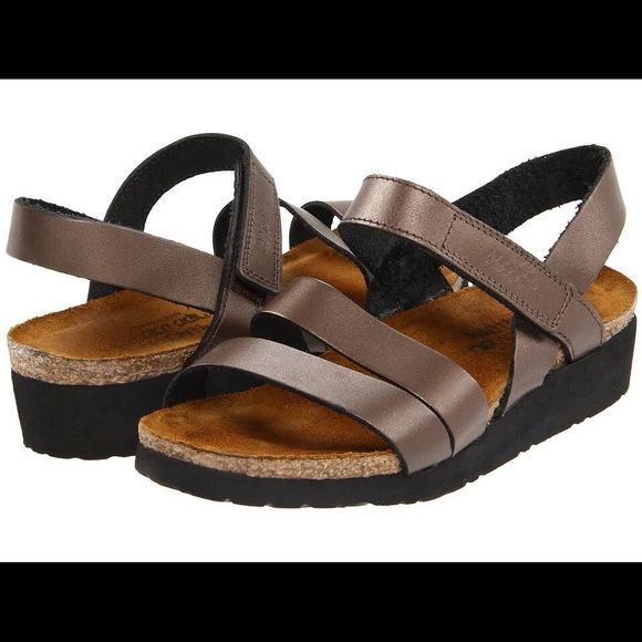 ea5dfbe2615e Shop Women s Naot Brown size 8 Sandals at a discounted price at Poshmark.  Description  Insole inches 🦉 Condition  bit of wear on the insides.