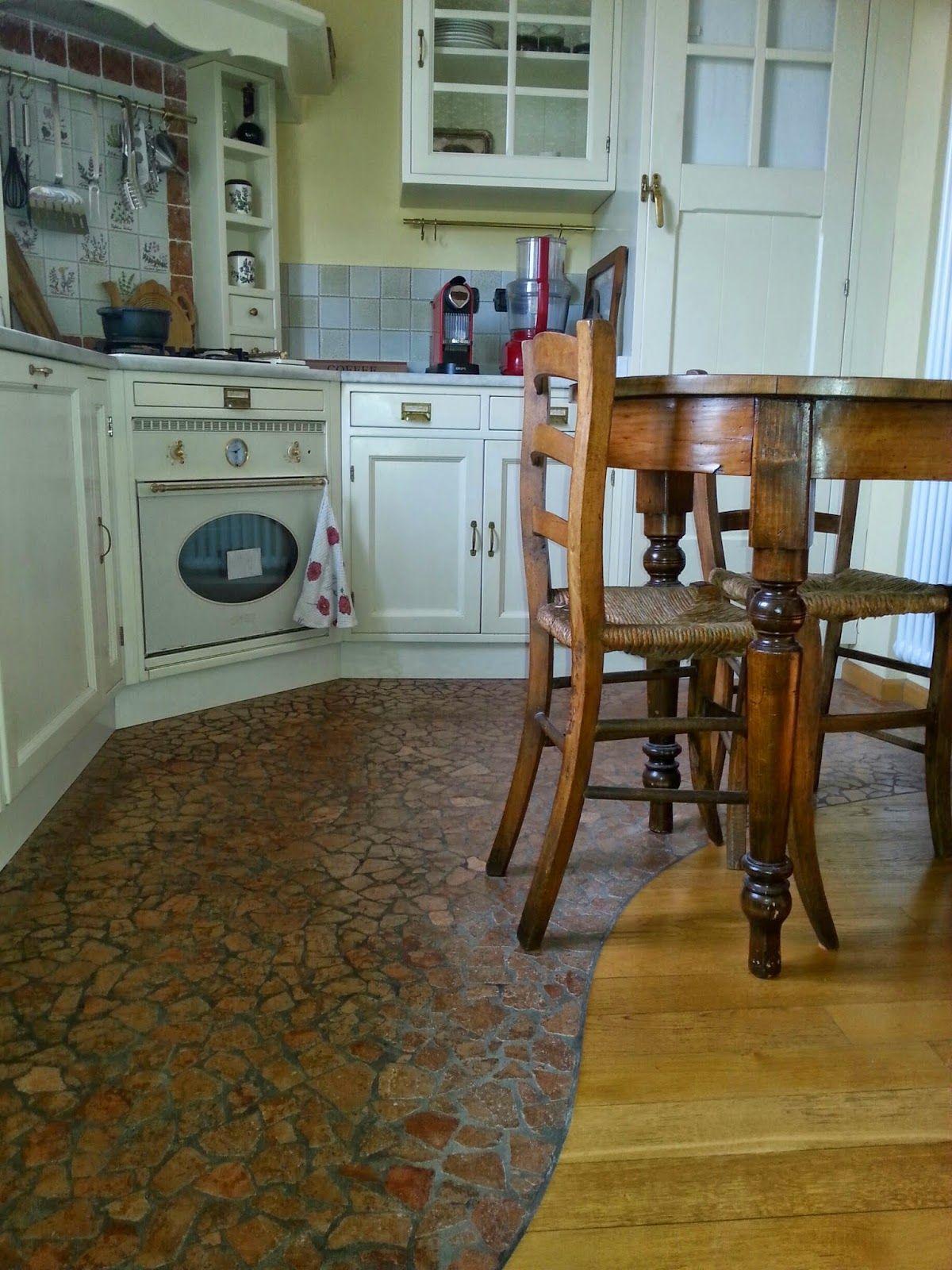 parquet in cucina con tappeto di piastrelle - Cerca con Google ...