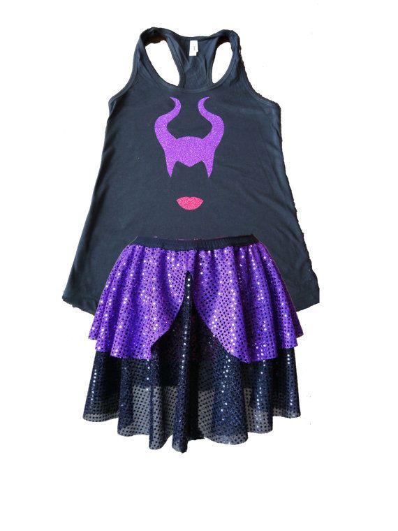 Maleficent Running Costume Evil Queen Costume by prettypumpkin