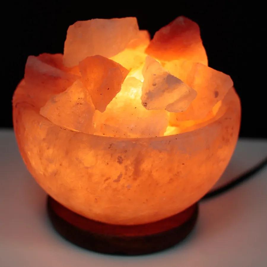 New In Hoogaah Natural Himalayan Salt Lamp Salt Rock Lamp