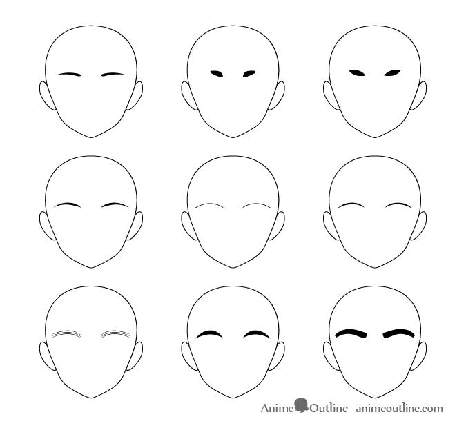 How To Draw Anime Manga Eyebrows Animeoutline Anime Drawings Drawing Anime Clothes Eyebrows Sketch