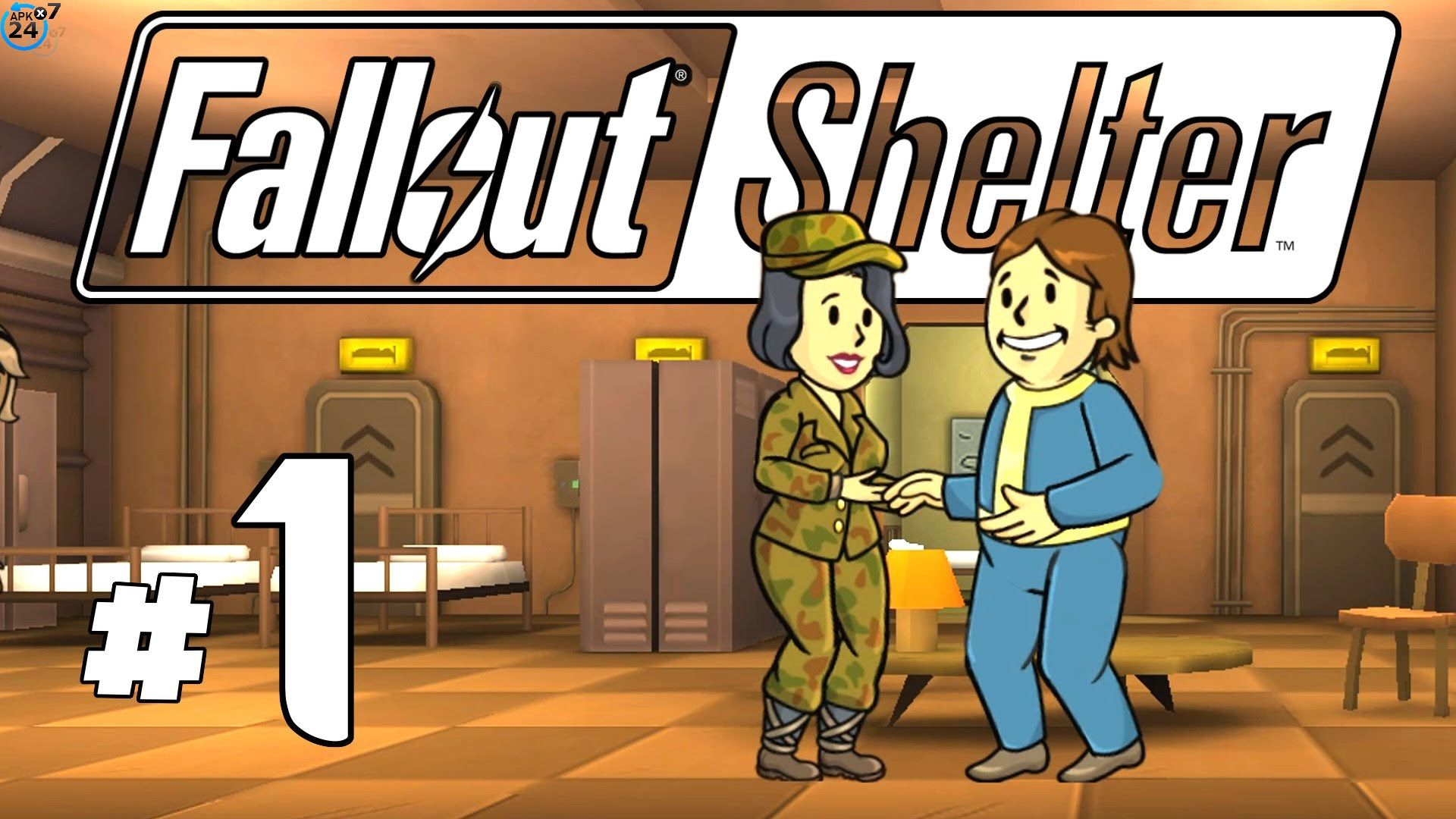 Fallout Shelter v1 13 8 Mega Mod APK + DATA | Andriod Games
