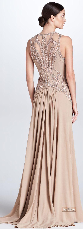 Elie Saab Beaded Cutout Gown, on Neiman Marcus | Designer Evening ...