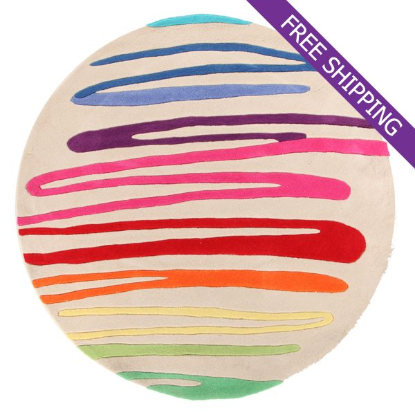 Round Kids Rug Multi Coloured 159 00 Bellas Little Ones Australia Ergobaby Carrier