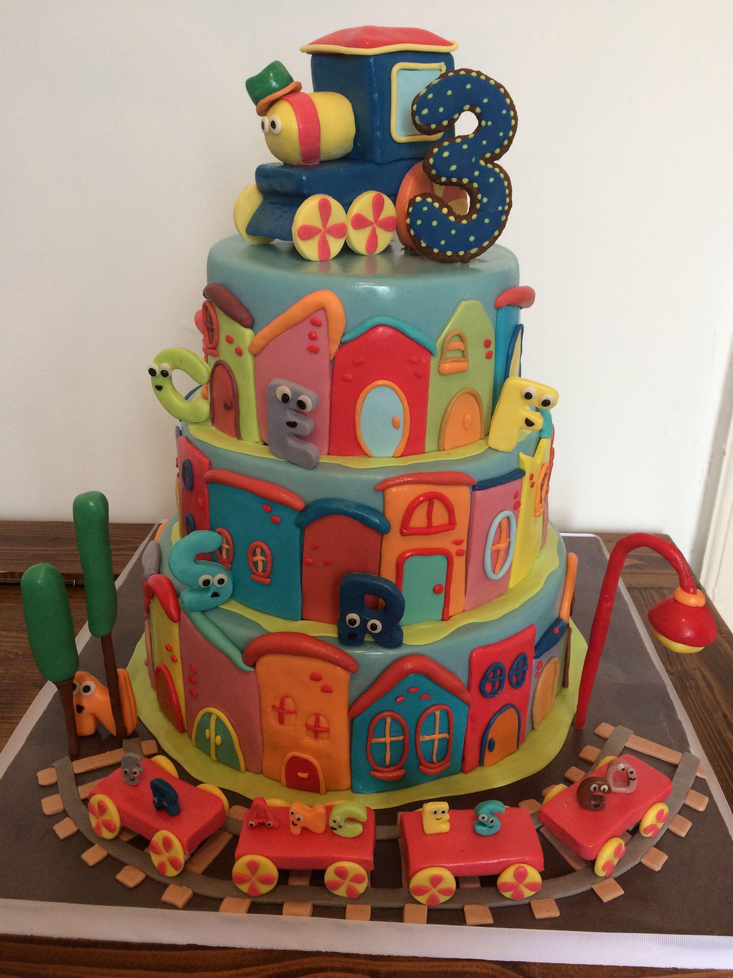 Bob train cake torte di compleanno feste di compleanno
