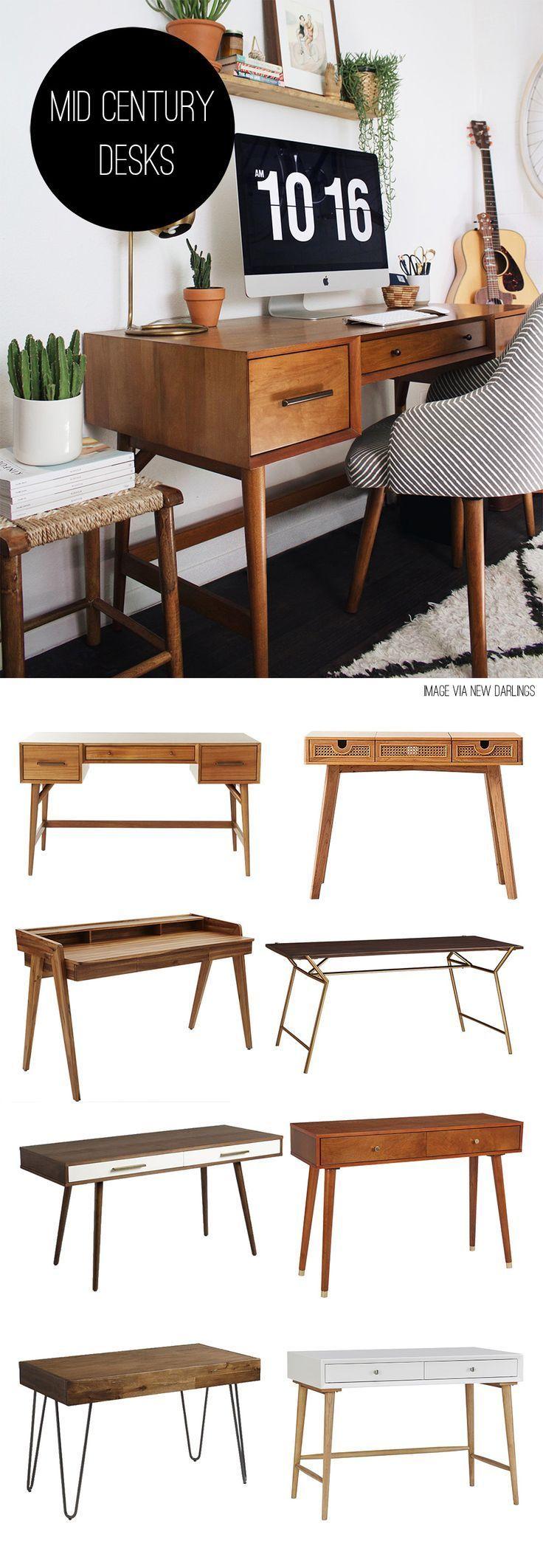 Mid Century Desks - House One -  Mid Century Desks – House One  - #AsianDecorations #BeautifulBedrooms #Century #Desks #FengShui #FrenchCountry #House #Mid #MidCenturyModern #ModernHouses