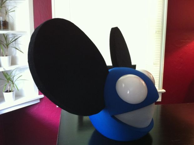 How To Build Your Own Deadmau5 Mouse Head Helmet Build Your Own Helmet Halloween Rocks