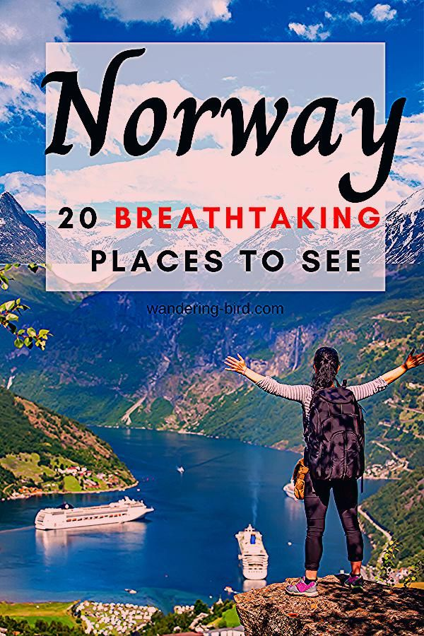 20 Breathtaking places to see in Norway