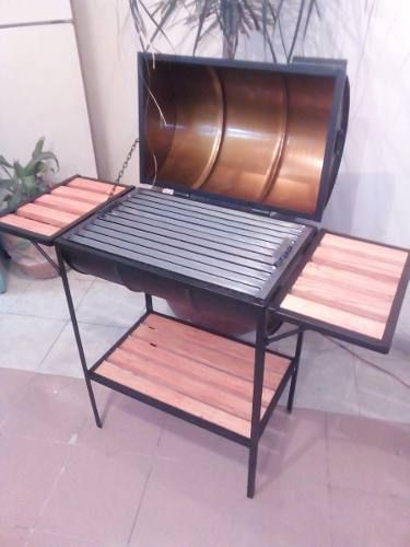 Azador Parrilla Argentina Al Carbon 80 ×40 Desmontable – $ 3,100.00