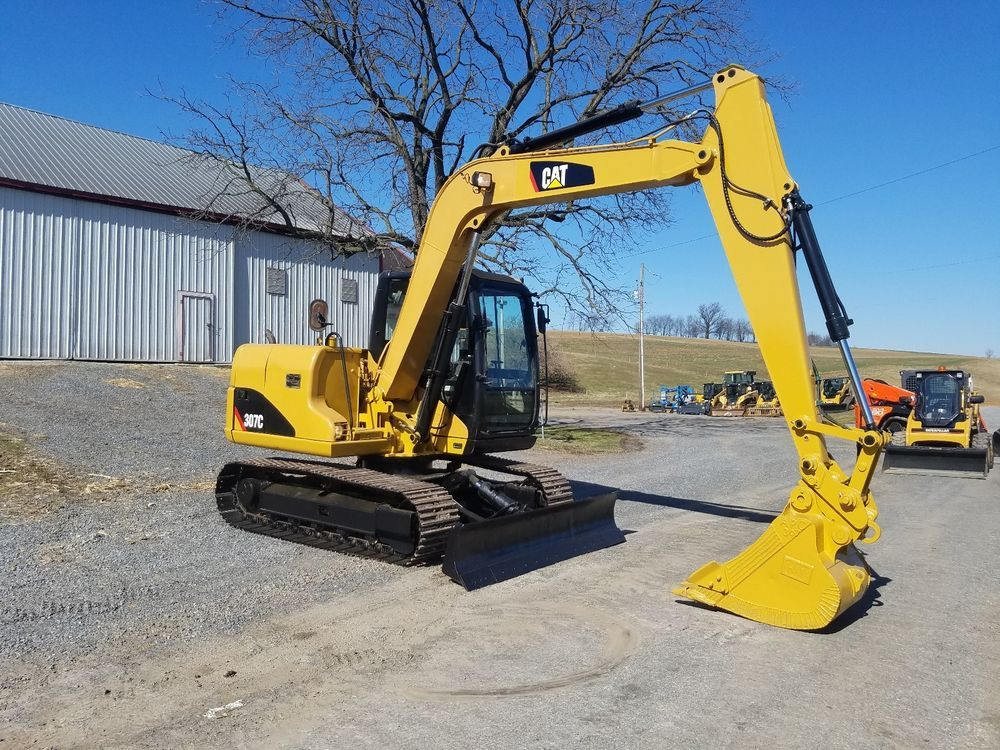 2002 Caterpillar 307C Hydraulic Excavator Tracked Hoe