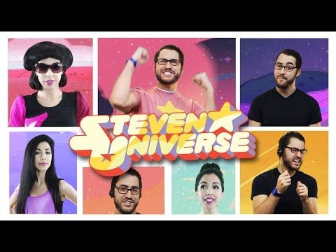 Steven Universe Theme Song Acapella - ft. Roxy Darr - YouTube