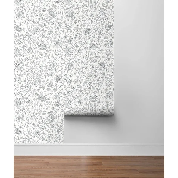Overstock Com Online Shopping Bedding Furniture Electronics Jewelry Clothing More Peel And Stick Wallpaper Paisley Wallpaper Burke Decor