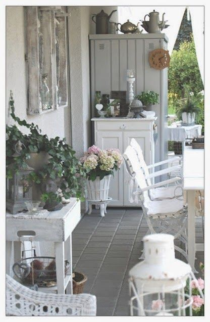 mmweissesherz.blogsp36 | jardin shabby romantique | Idee deco jardin ...