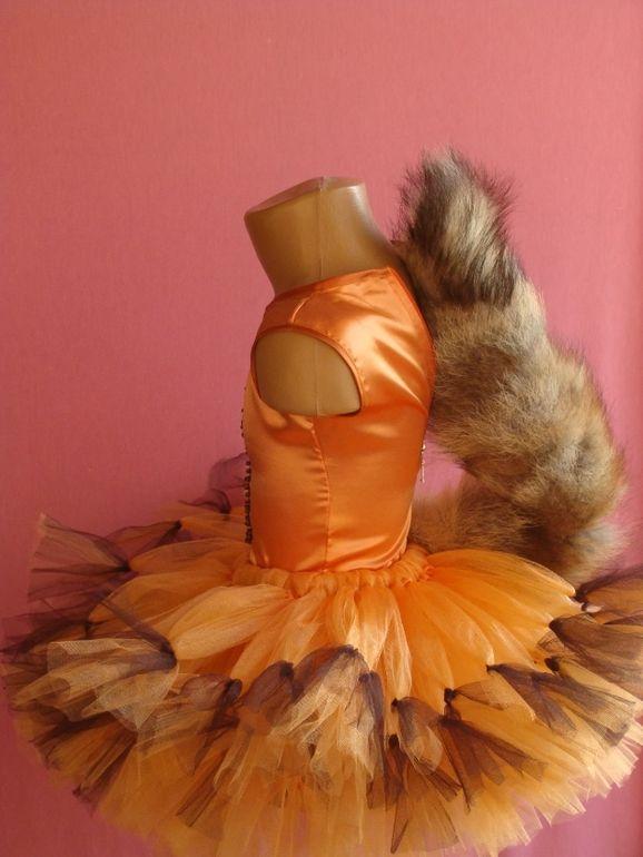 Костюм лисы для девочки своими руками выкройка фото 12