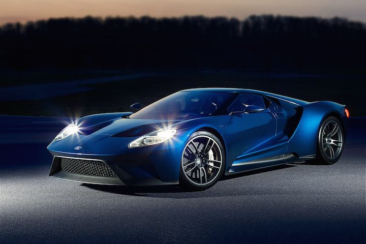 The Ford Gt Racecar V6 Makes An Otherworldly Sound Ford Gt