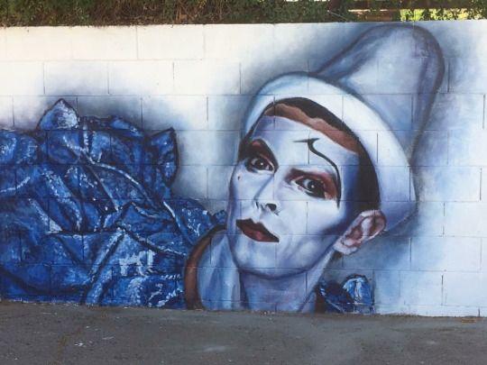 david bowie mural in phoenix, arizona. artwork by maggie keane photographed by brianna kristen