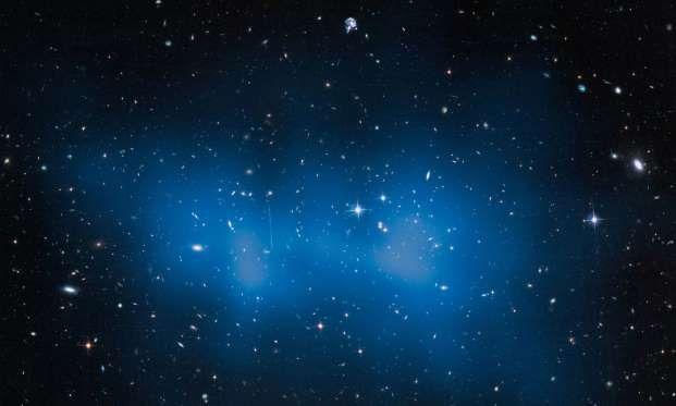 Galaxy cluster 'El Gordo' - ESA/NASA