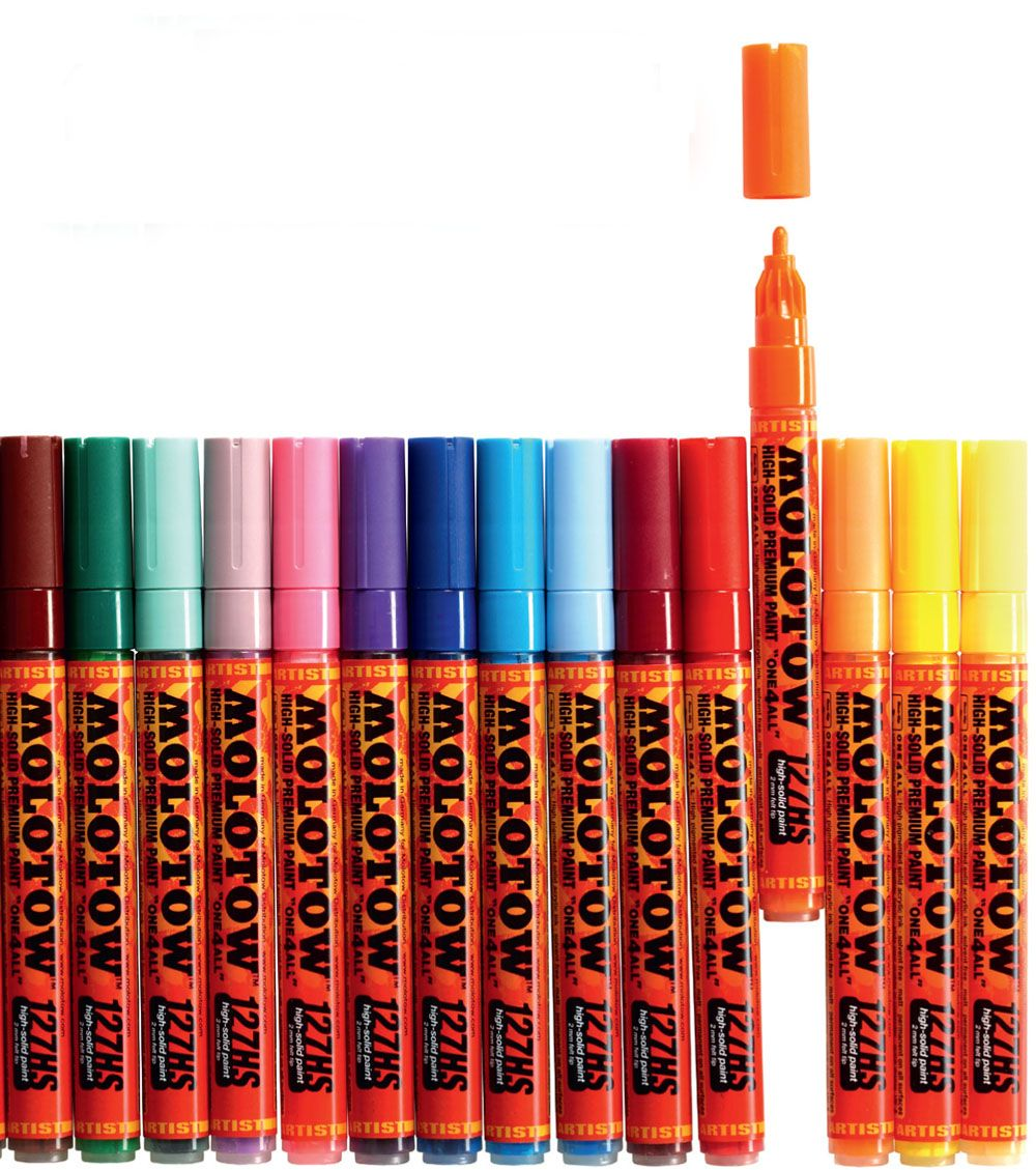 Molotow ONE4ALL Acrylic Paint Markers
