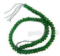 "5x8mm Faceted Natural Aquamarine Gemstones Loose Beads 15/"" AAA"
