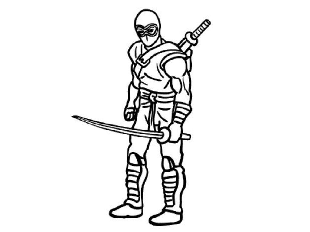 Printable ninja coloring pages amazing coloring pages