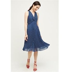 I just added this to my closet on Poshmark: Anthropologie Blue Dabney Midi Dress by Eva Franco. Price: $158 Size: 10P