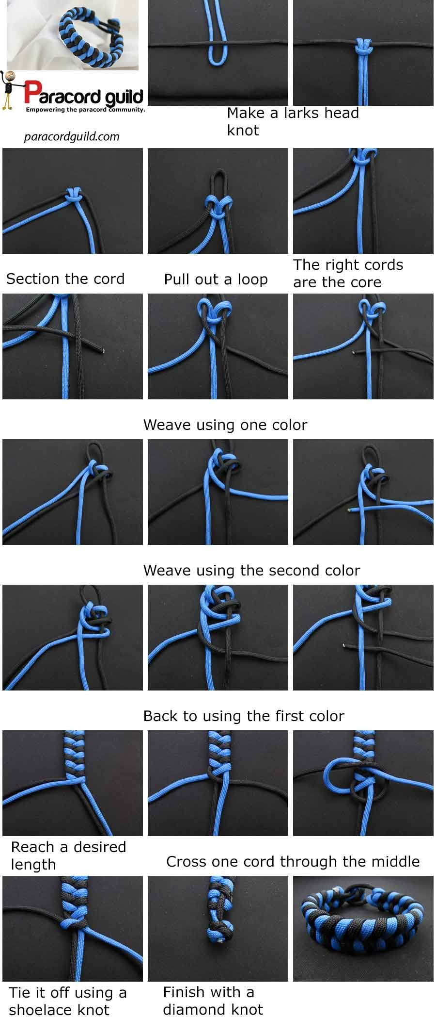 How To Make A Paracord Cross Parachute Cord Crafts Paracord