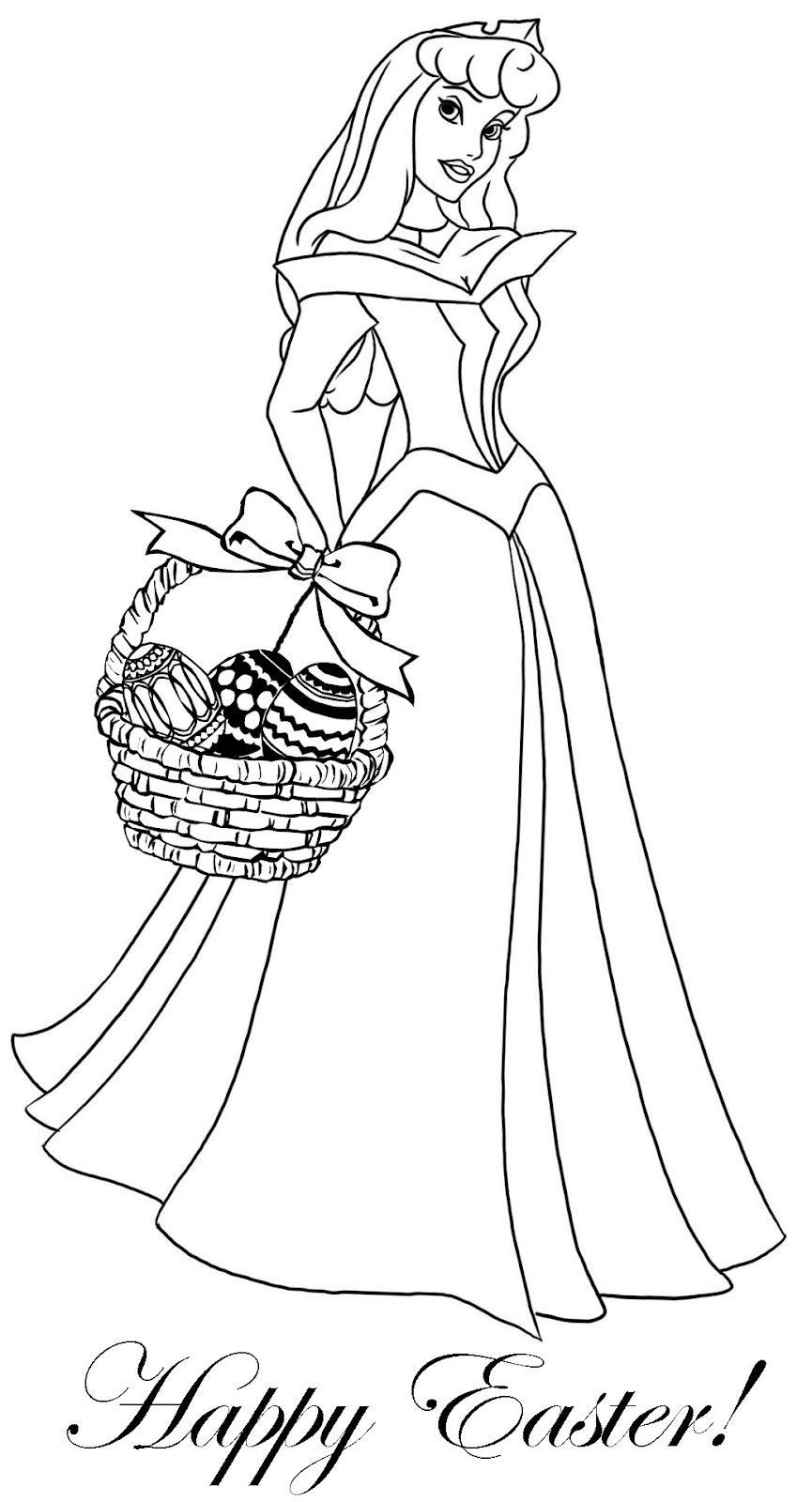 Princess Coloring Pages Easter Theme Coloring Page Princess Coloring Pages Disney Princess Coloring Pages Princess Coloring