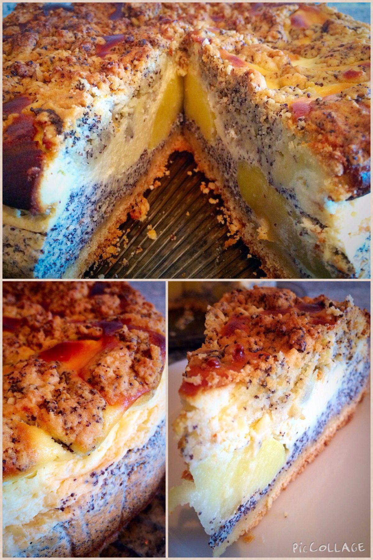 Apfel Mohn Quark Kuchen Www Manufaktur Blessing De Home Made Cakes