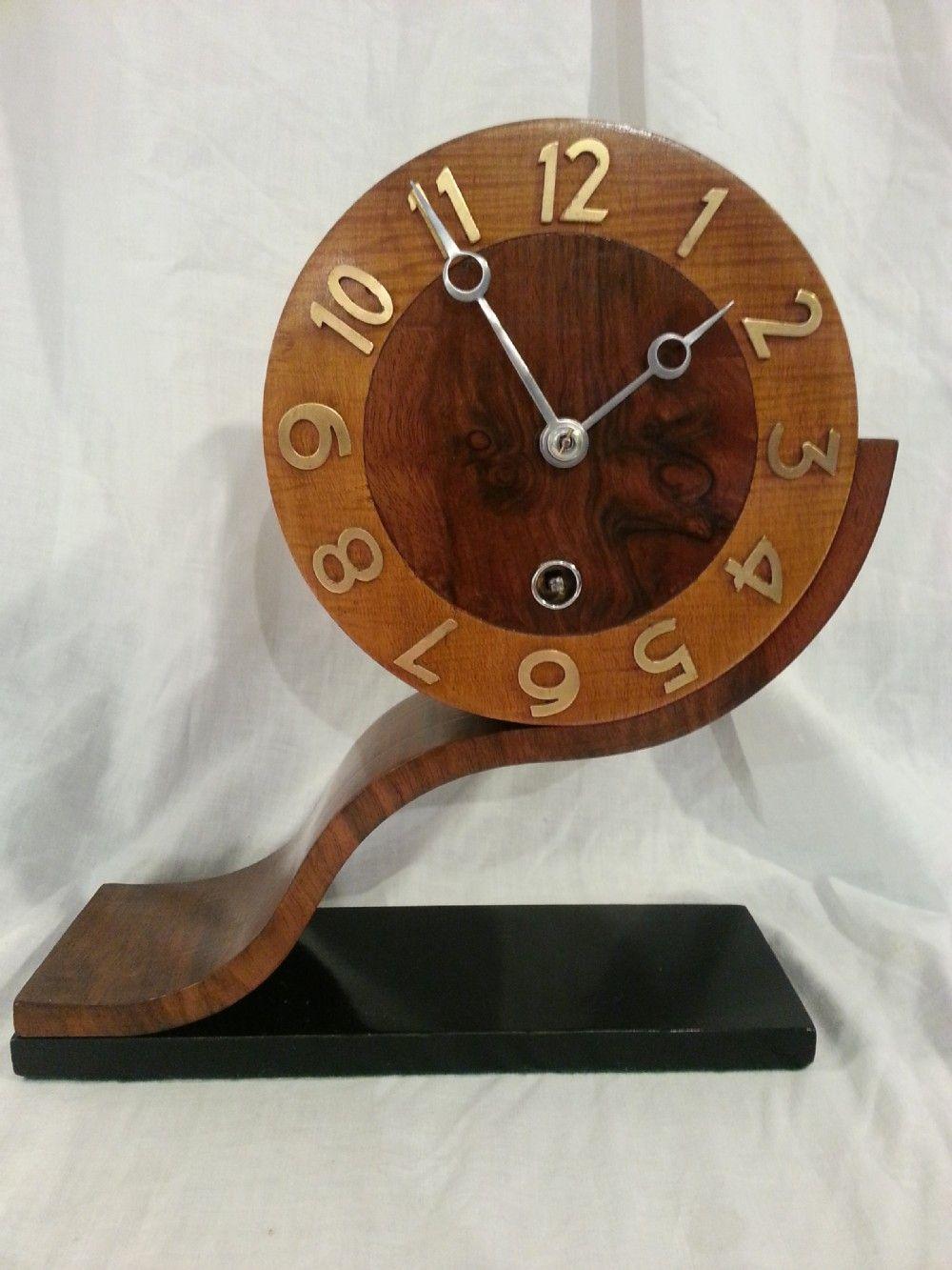 Art Deco Mantle Clock Antique Clocks Clock Mantle Clock
