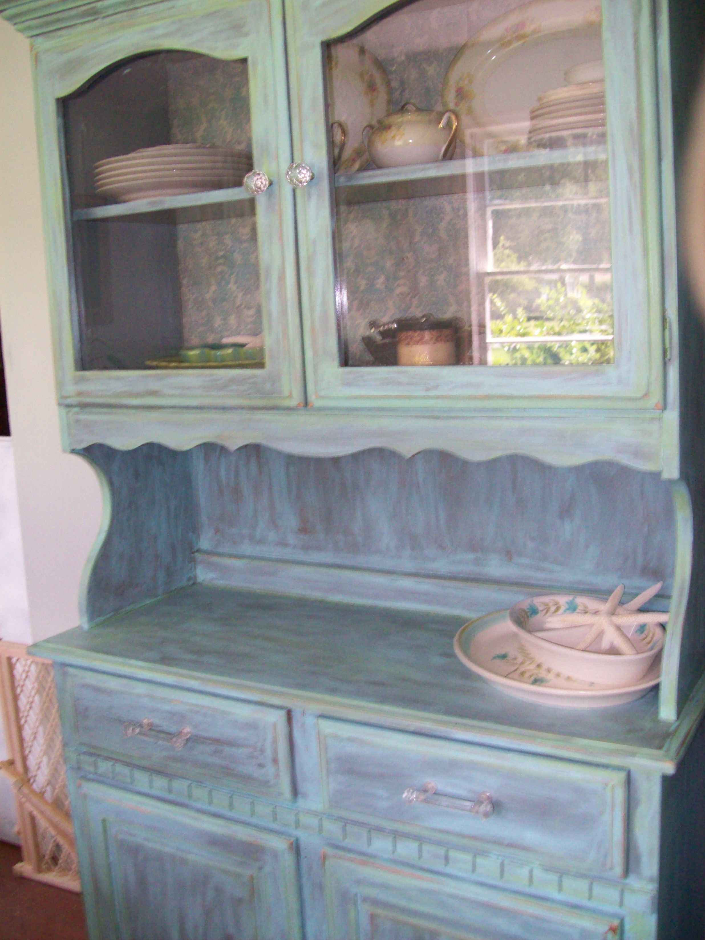 Thrift China Cabinet Painted Painted China Cabinets Diy