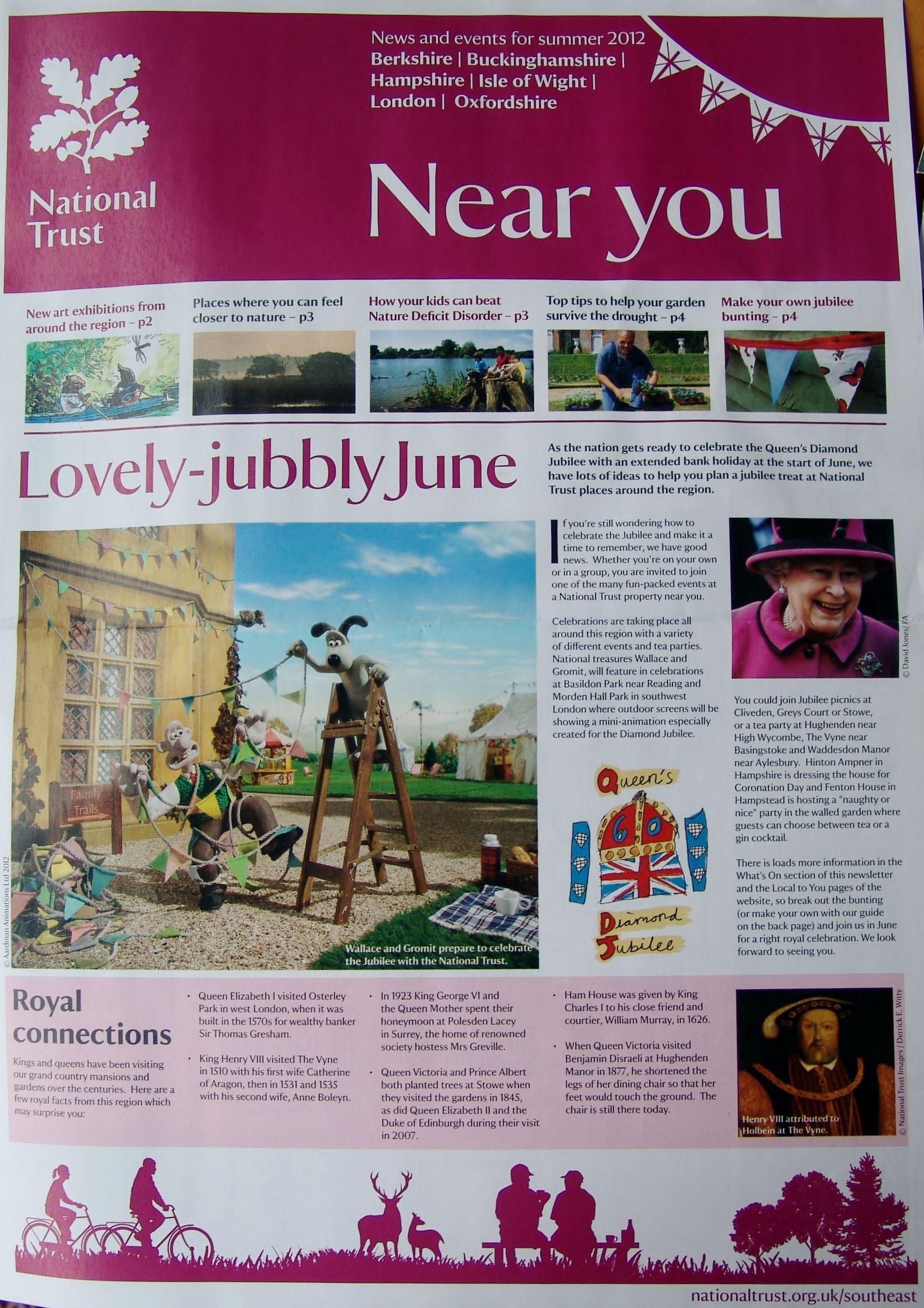 National Trust Newsletter - Jubilee Edition | Queen's