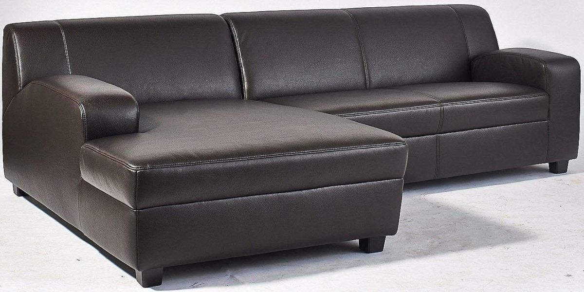 Home affaire Ecksofa braun, Recamiere links, »Fun«, FSC - wohnzimmer sofa braun