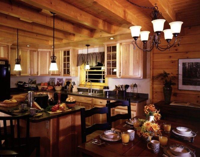 Log Cabin Interior Decorating | Interior Design Ideas Admirable Design Log