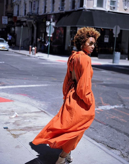 015972190c The Coolest All-Orange Outfits We ve Seen All Summer in 2018 ...