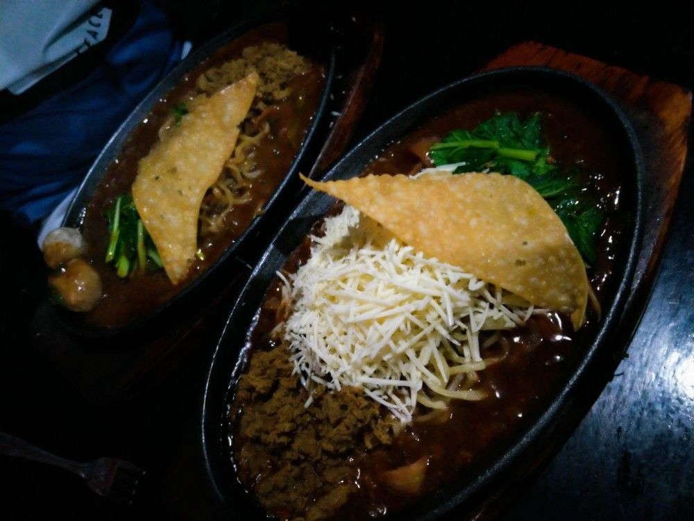 Kuliner W H O Warung Hotplate Odon Resep