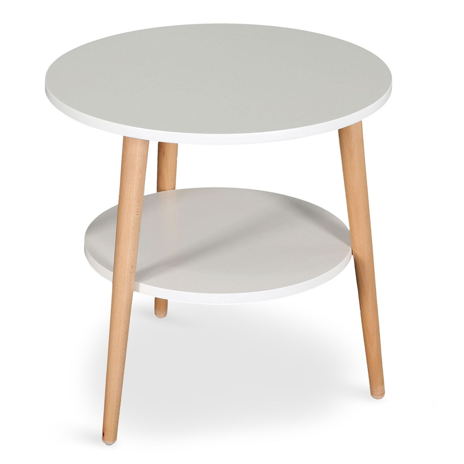 Couchtisch Nala Table Basse D Appoint Pyky Blanc Tendance Scandinave Pinterest