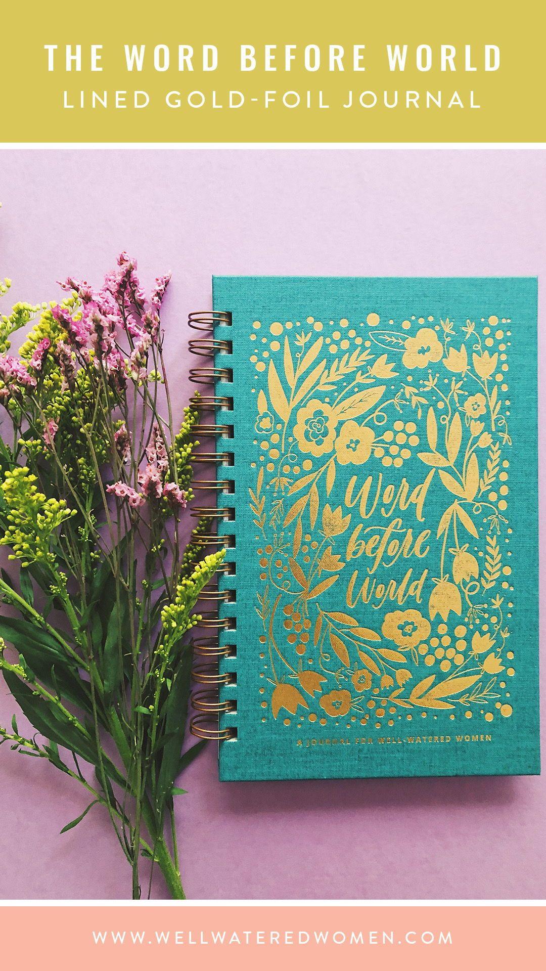 Word Before World Journal | #WORDBeforeWorld | Journal