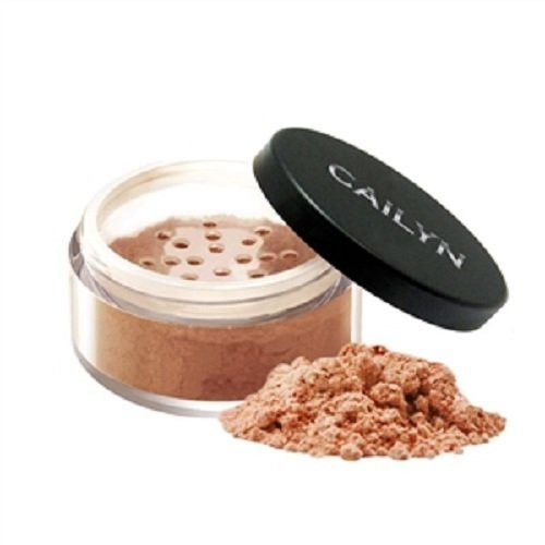 Cailyn Cosmetics Deluxe Mineral Bronzer Powder, Berry with Gold, 0.3 Ounce