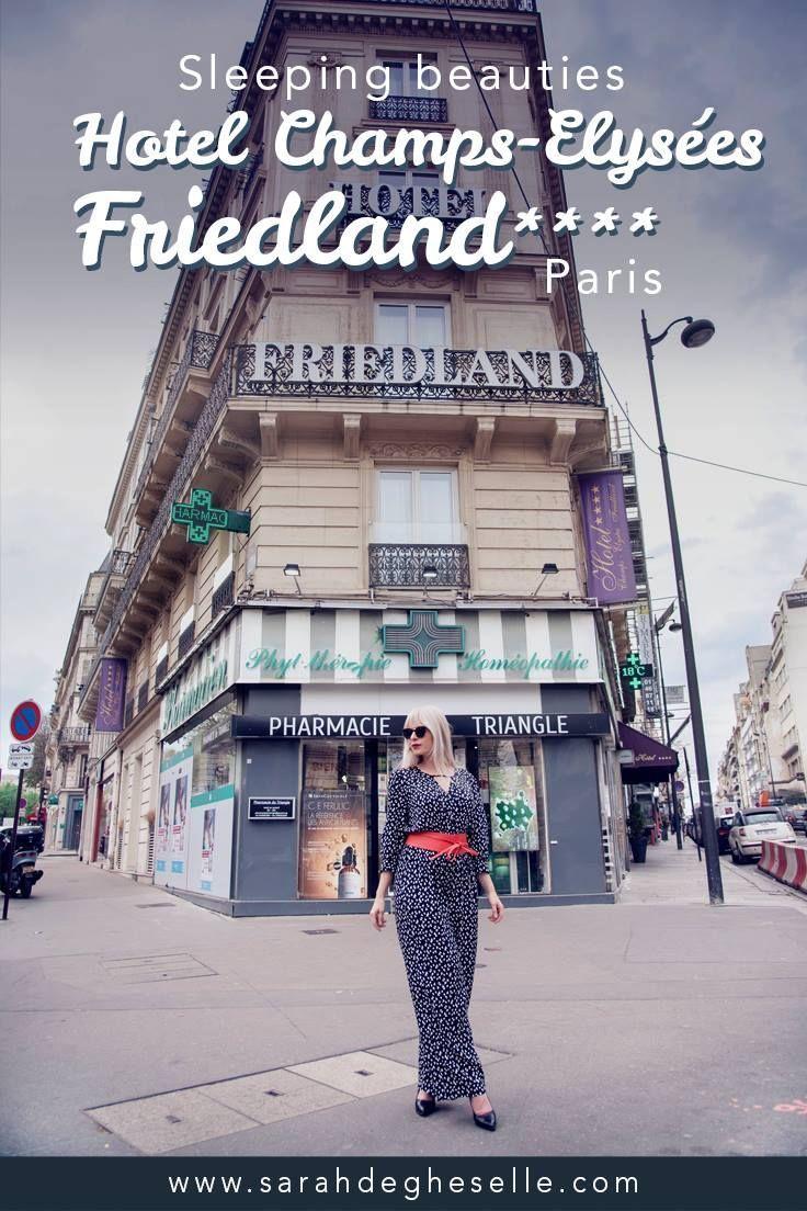Staying At Hotel Champs-Elysées Friedland****