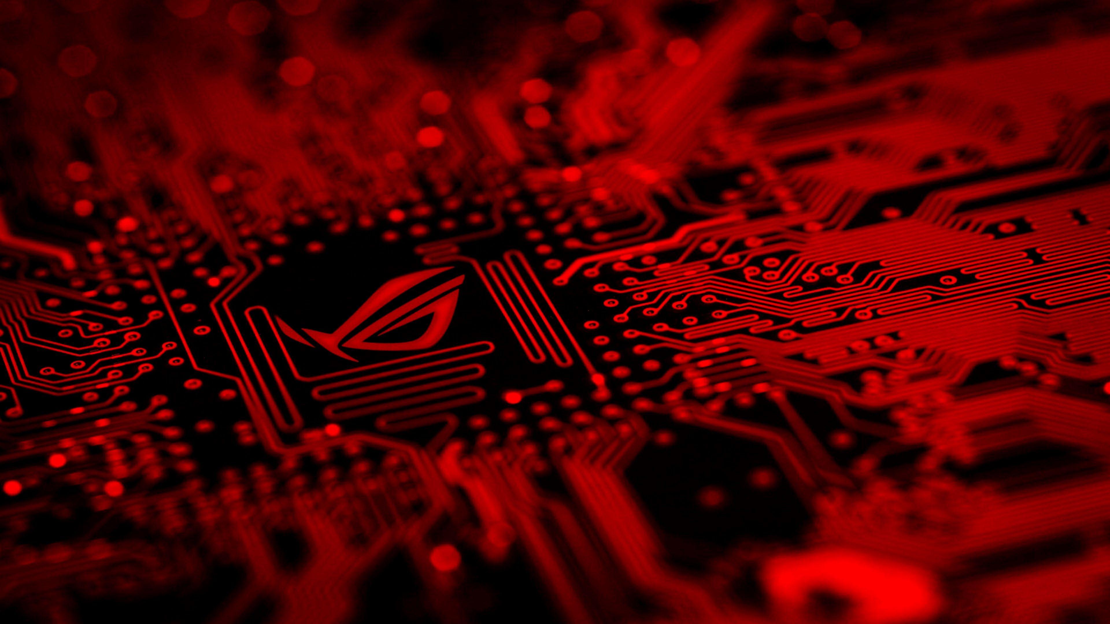 Asus Rog Wallpaper 4k Mobile Ideas Wallpaper Merah Wallpaper Android Wallpaper Pc