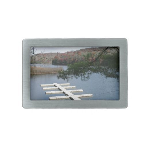 Boat Dock Rectangular Belt Buckles! Thanks For Looking