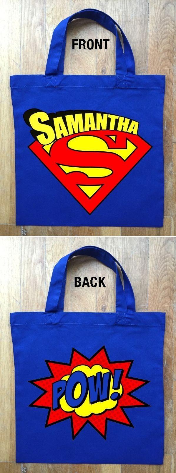 Superman Treat Bags